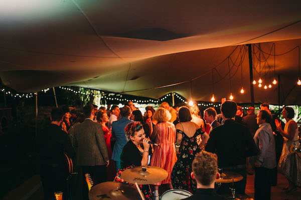 Stretch tent interior - Lawson photography