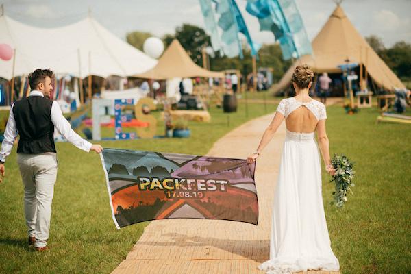 Festival banner - Wedding Day Photos