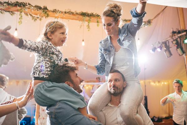 Festival fun - Wedding Day Photos