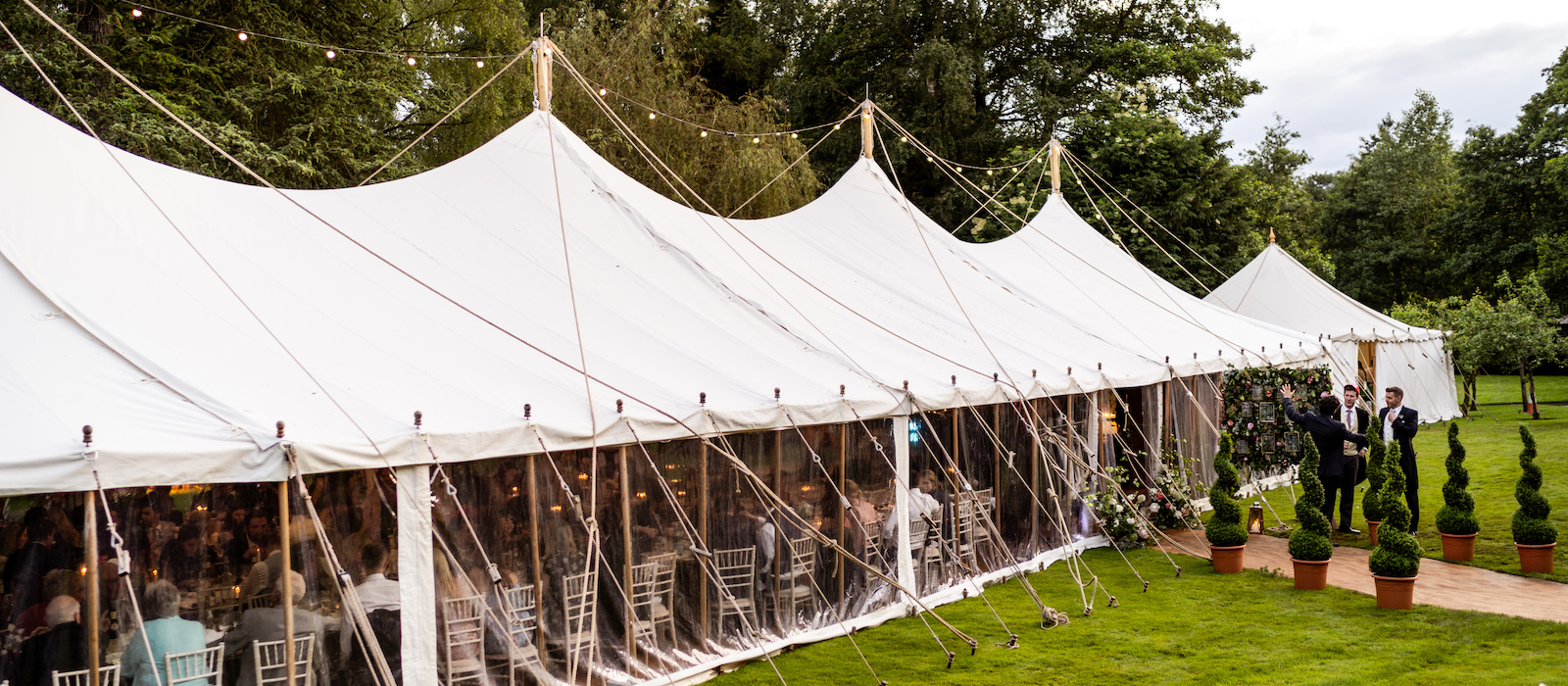 9m x 30m Round Ended Marquee